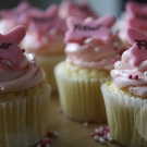 It's a girl! - Vanille cupcakes