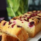Ricotta cake met frambozen