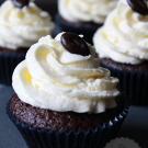 Chocolade koffie cupcakes