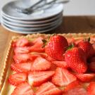 Mascarpone yoghurt taart