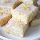 Citroen cake met glazuur
