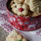 Sprits koekjes met de koekjespers